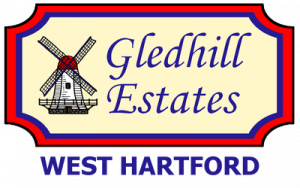 gledhill estates logo with west hartford transparent 1