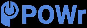powr full logo blue