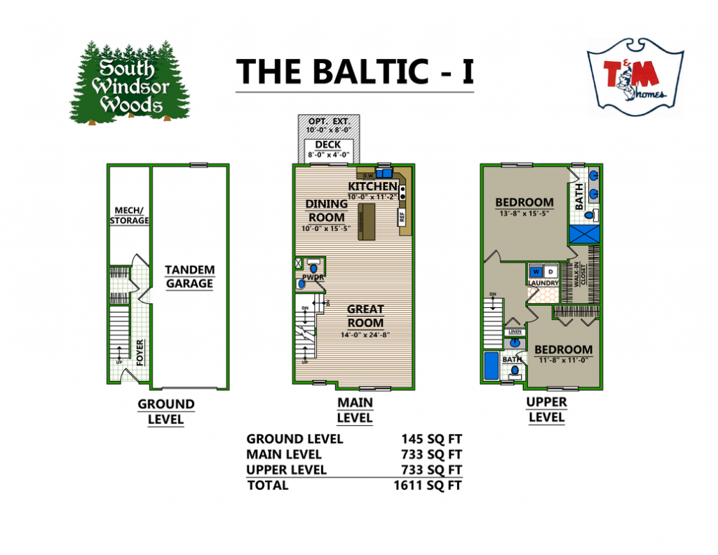 The Baltic I - layout